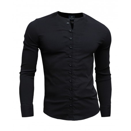 Stylish shirt with unique fastening  Casual and Formal Shirts
