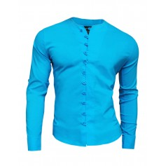 Stylish shirt with unique fastening
