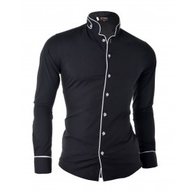 Grandad Collar Shirt  Casual and Formal Shirts