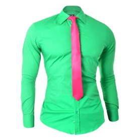 Party Shirt with free Tie  Casual and Formal Shirts
