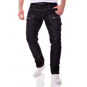 Black Jeans by Cipo & Baxx  Jeans and Trousers