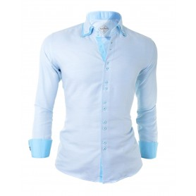Overlapping Layers Shirt  Casual and Formal Shirts