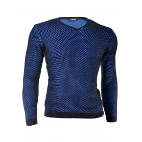 Stylish Knitted V-Neck Sweater  Sweaters and Cardigans