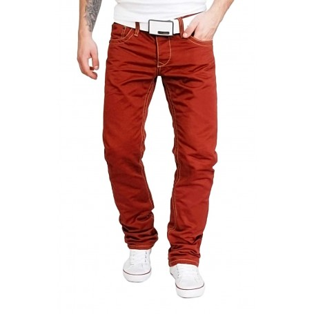 Cipo & Baxx firebrick jeans  Jeans and Trousers