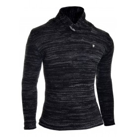Mens funnel neck pullover thick knit  Sweaters and Cardigans