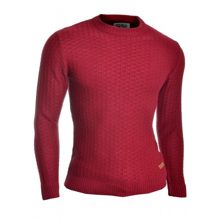 Men's Wool Knit Jumper Smart Long Sleeve Sweater Crew Neck Top  Sweaters and Cardigans
