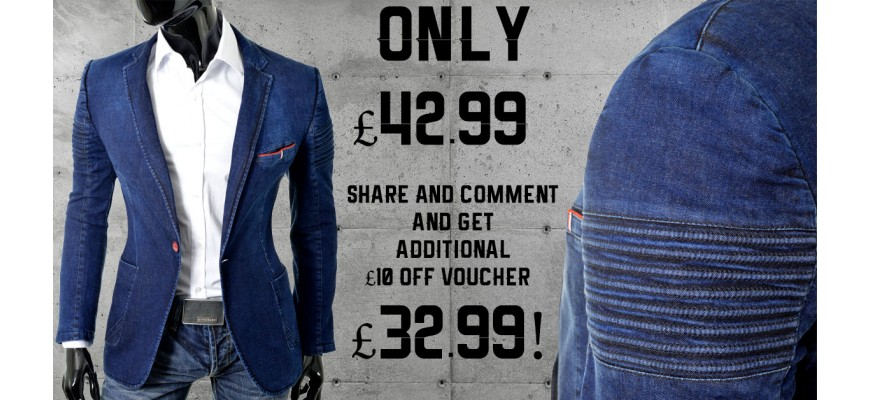 Get a blazer using the facebook ad !
